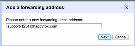 how to create rule in gmail account